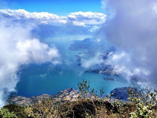 San Pedro La Laguna, جواتيمالا: from the top. bring lots of water