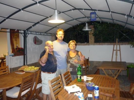 Bed and Breakfast Gullo: very nice evening 1