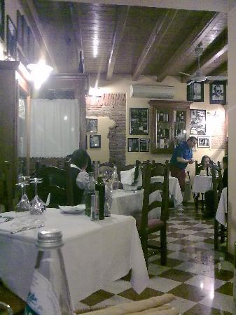 Hostaria Fortuna Vecia: vista ristorante