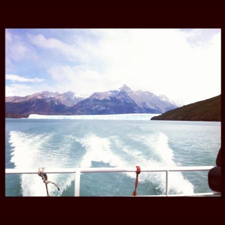 El Calafate, Argentine : El Perito Moreno visto desde el Catamaran.