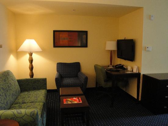 SpringHill Suites by Marriott Naples : coin salon