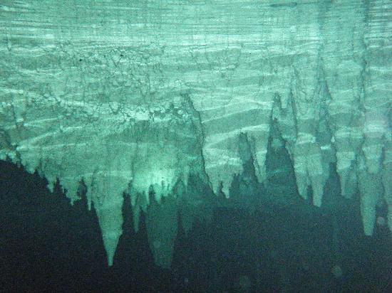 Labna-Ha Magic Mayan World : And underwater view