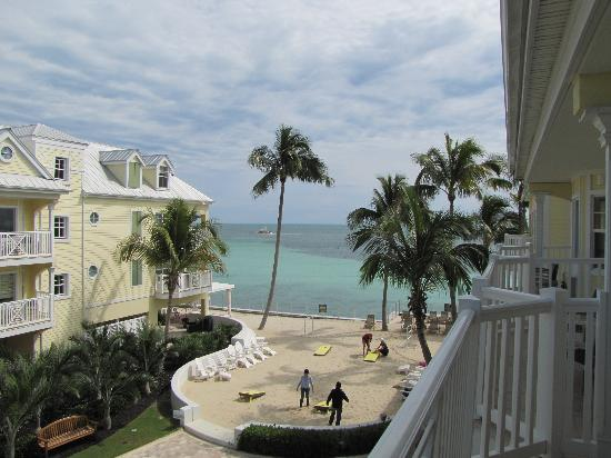Southernmost Beach Resort: The view from our balcony!