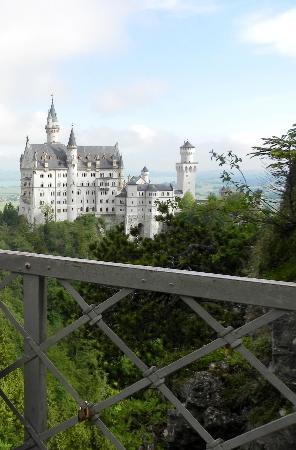 Bavaria, Germany: particolare del ponte