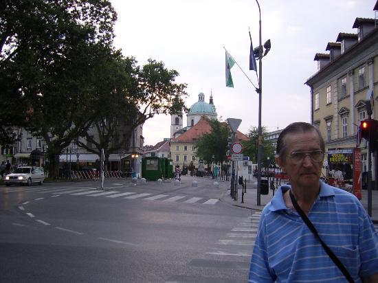 Preseren Square: Centro cívico