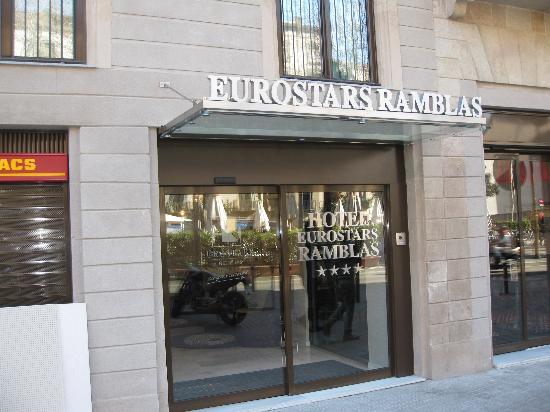 โรงแรมยูโรสตาร์ รัมบลา: ingresso