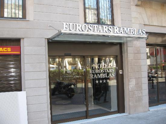 Eurostars Ramblas: ingresso