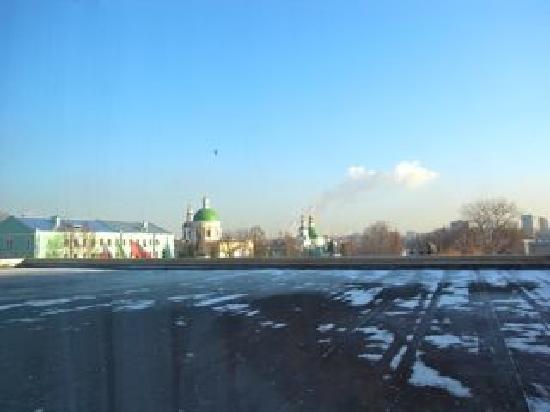 Danilovskaya Hotel: 部屋からの眺め