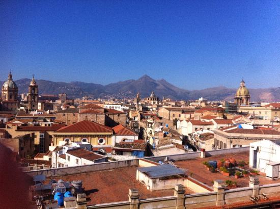 Ambasciatori Hotel : dal terrazzo a colazione
