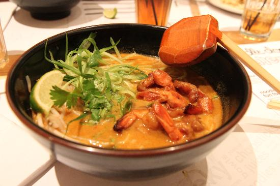Wagamama - Bloomsbury: Noodle soup