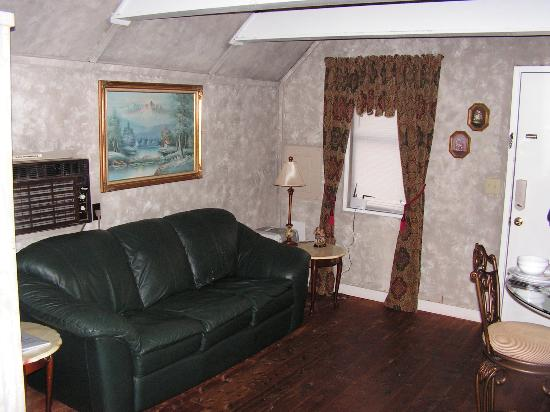 Honeymoon Hills Gatlinburg Cabin Rentals: living room