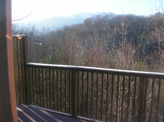 Honeymoon Hills Cabin Rentals: view