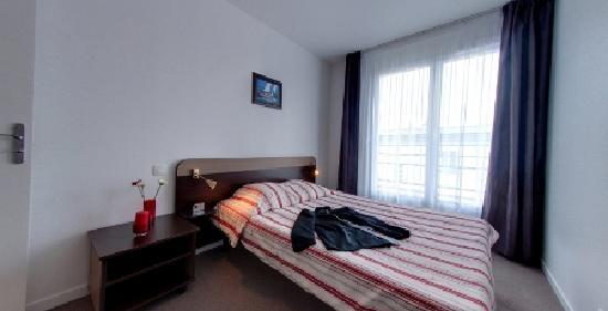 Appart'City Brest Place de Strasbourg : Chambre d'appartement