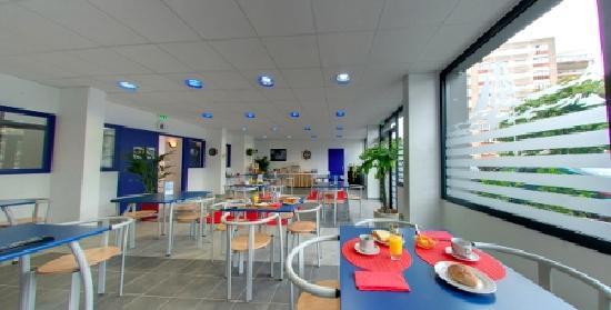 Appart'City Brest Place de Strasbourg : Salle petit-déjeuner