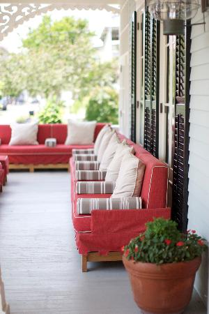 The Virginia Hotel: Front Porch