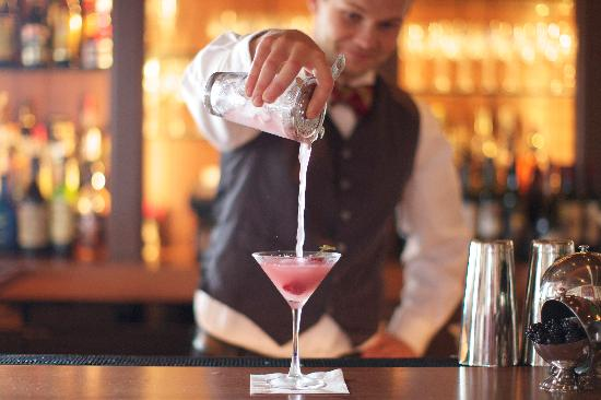 The Virginia Hotel: One of our many signature cocktails