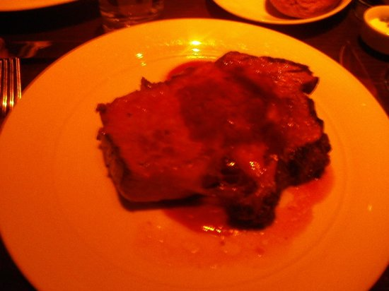 Brand Steakhouse: My giant prime rib!!