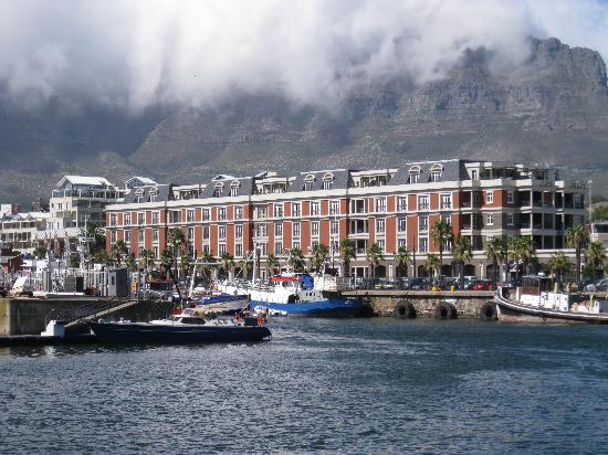 Cape Grace: View from waterfront