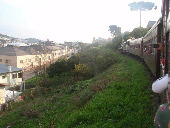 Maria Fumaça - Giordani Turismo: A locomotiva