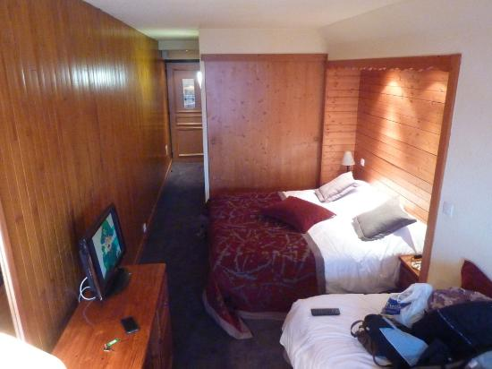 La Cachette Hotel: our room