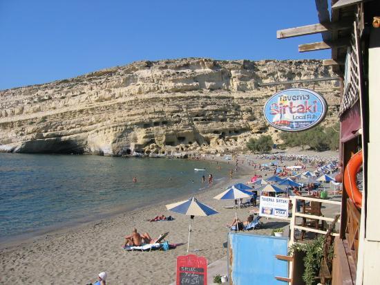 Hotel Zafiria: Good restaurants at the beach