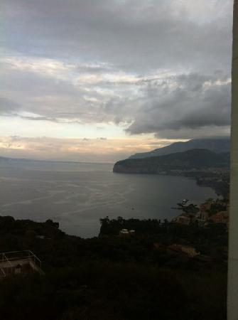 Grand Hotel Aminta: vue de notre chambre