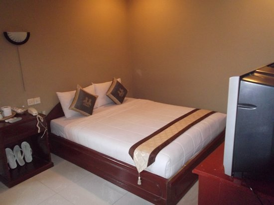 Le Grand Mekong: Upstairs double room