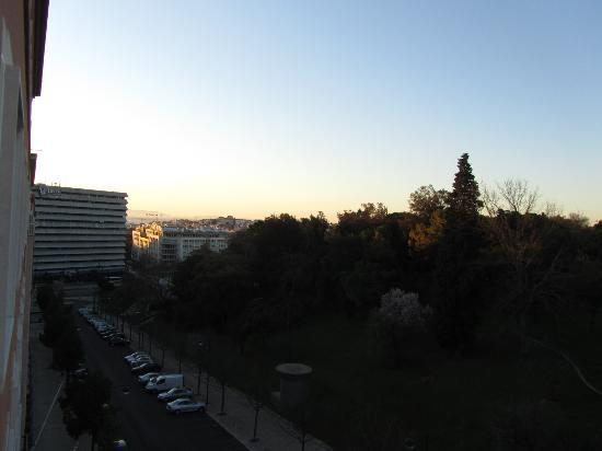 Hotel Miraparque: Bela vista do quarto
