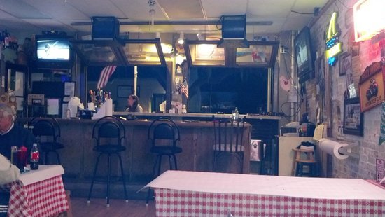 Brady's Backyard Barbecue: One of two bars