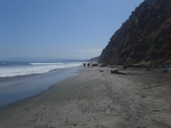 Playa Luna: Vista da praia ao fundo