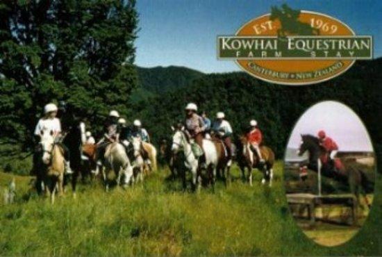 Oxford, Nieuw-Zeeland: Scenic farm trekking