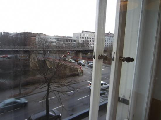 Grand Hostel Berlin: View outside the window