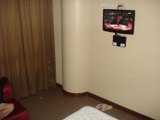 Fuente Oro Business Suites: another view of the tv