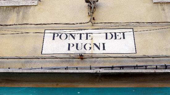 Ponte dei Pugni - Bridge of Fists