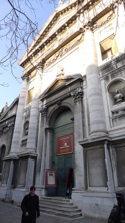 Chiesa San Vidal - where Interpreti Veneziani perform