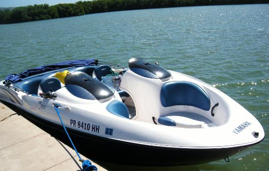 7 passenger jet boat - Picture of Puerto Rico Adventure Water Sports