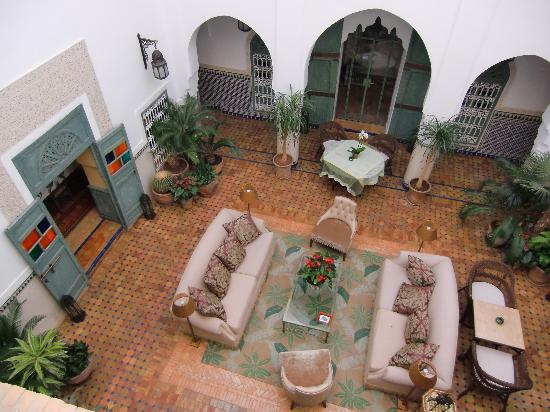 Dar al Assad: Patio interior