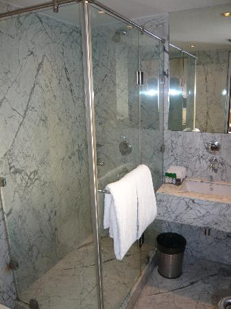 Hotel Palace Heights: the bathroom