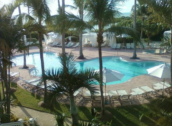 Sanctuary Villas at Hawks Cay: View from the room