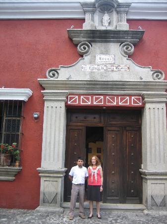 Hotel Palacio de Dona Beatriz: Front entrance