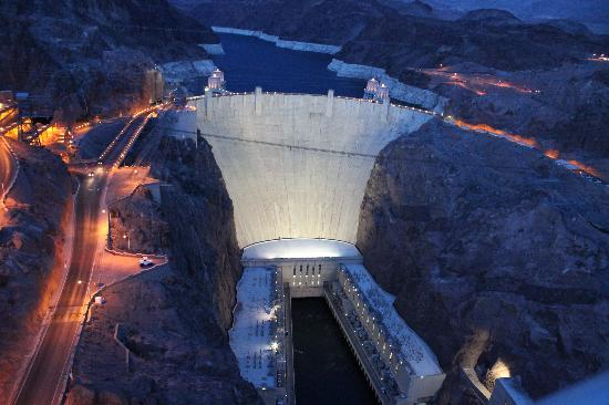 Hoover Dam At Night Picture Of Hoover Dam Bypass Las Vegas Tripadvisor