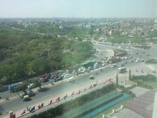 Crowne Plaza Today New Delhi Okhla: View from room 7030