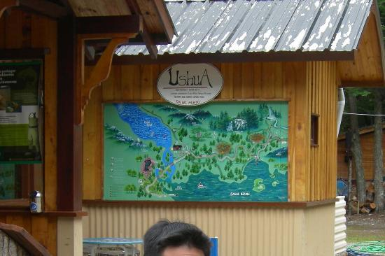 Ushuaia Bay: food