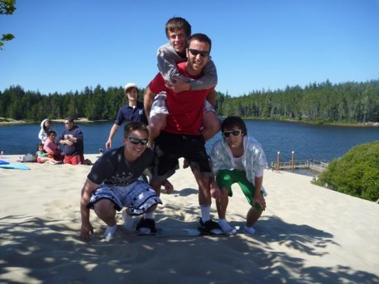 Sand Master Park: with the instructors of the park