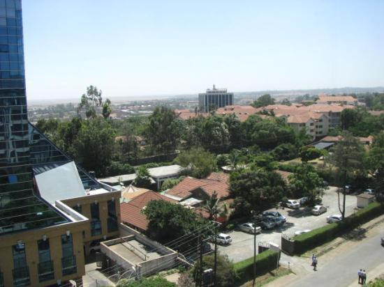 Crowne Plaza Hotel Nairobi: view of Nairobi town