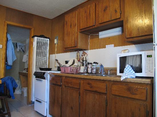 Alpine Lodge & Suites: kitchen