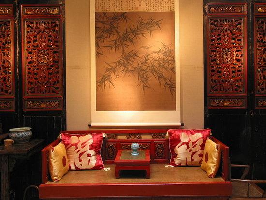 Zen Garden Hotel (Wuyi Yard): ZenGardenHotel_WuyiYard_Teahouse