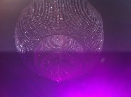 Le Banque: il grande lampadario