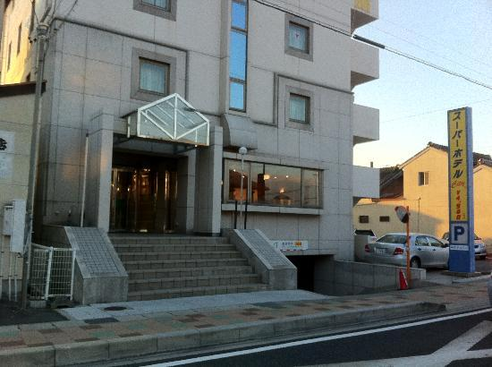 Super Hotel Anjo Ekimae: 玄関