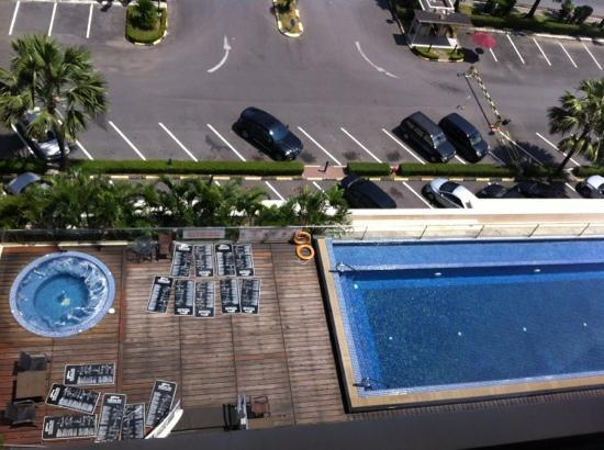 Grands I Hotel: view from room